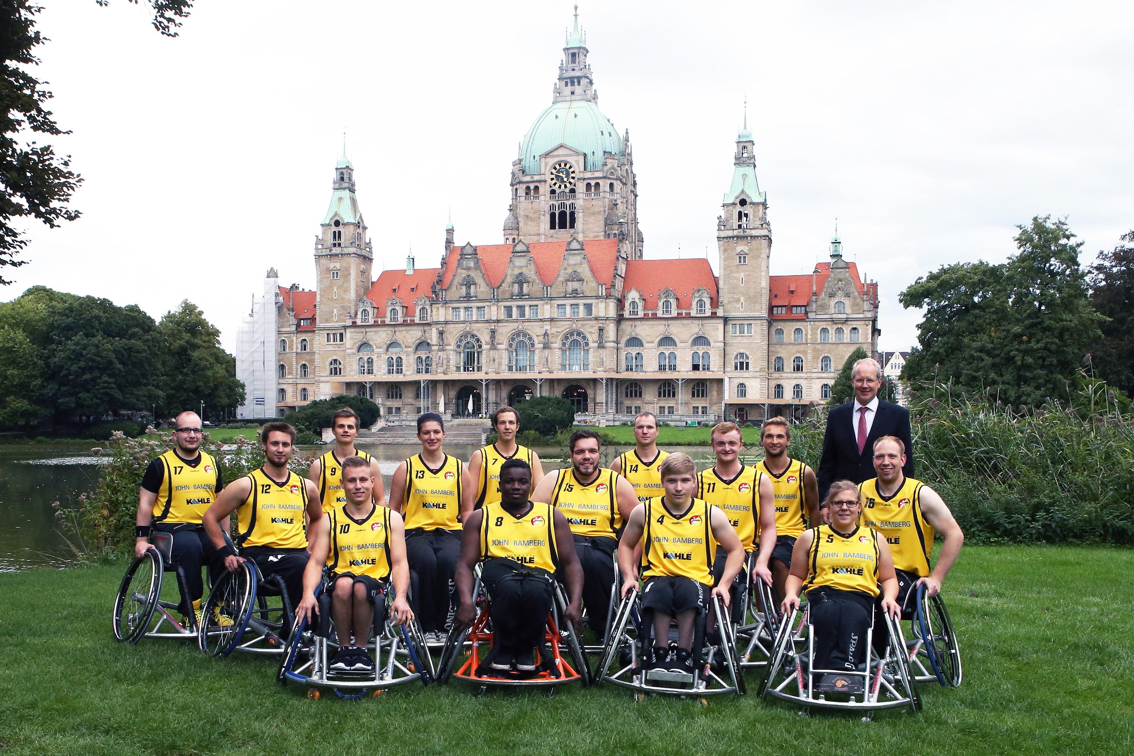 Rollstuhlbasketball Hannover 1. Bundesliga