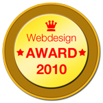 Webdesign Award Gold